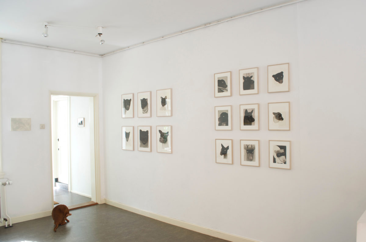 Exhibition view: In our nature with Rob Regeer galerie Lutz Delft, 2014