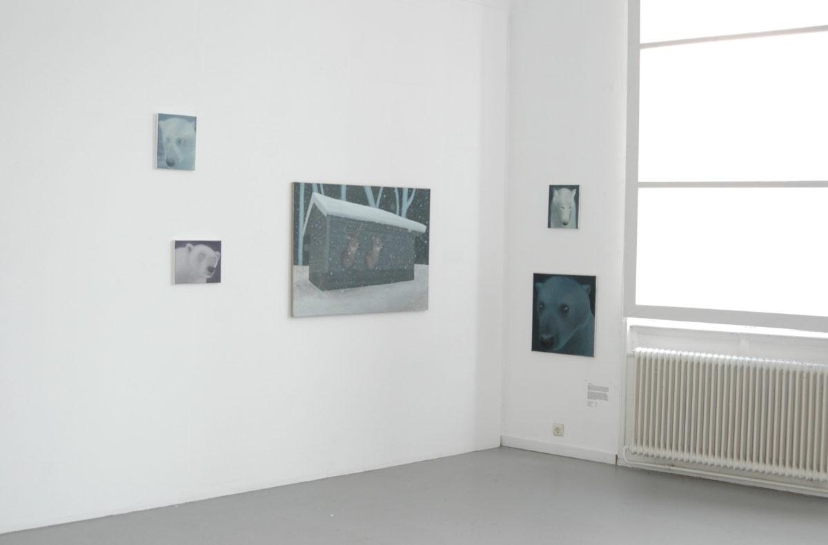 Exhibition view: New members Arti et Amicitiae, Amsterdam, 2011