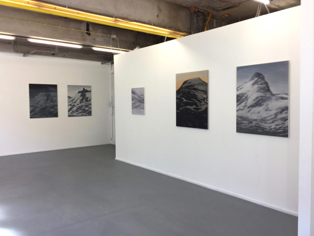 Exhibition view: Remote, solo exhibition galerie with tsjalling: Groningen, 2017