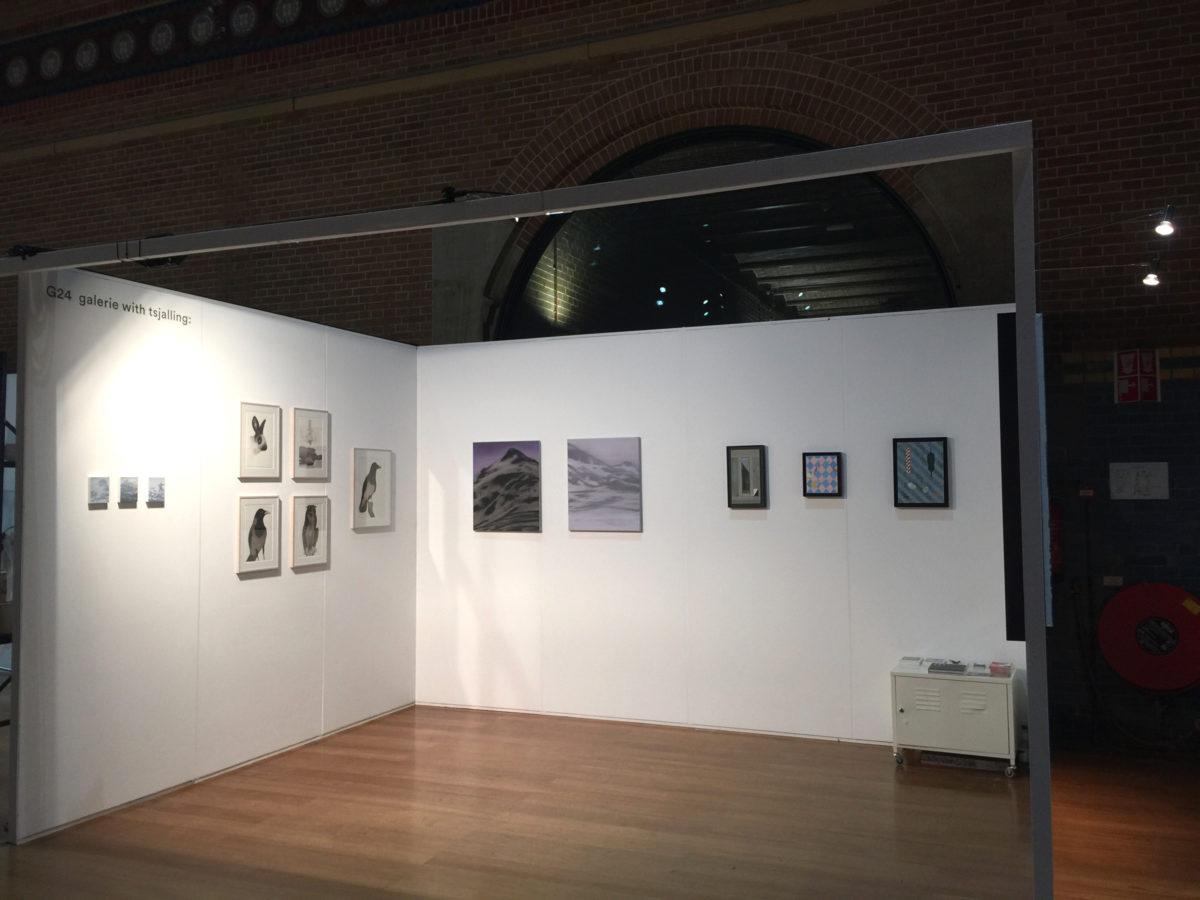 Exhibition view: This Art Fair  galerie with tsjalling: with Matthias Schaareman Amsterdam, 2016